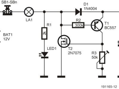 Kleine Schaltungen Folge 2: Energieeffizientes Relais