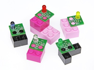 Projekt-Nr. 59: Elektor-Lego-LEDs