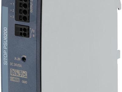 Siemens SITOP PSU6200 Schaltnetzteile jetzt bei Distrelec verfügbar