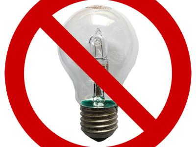 Verbot von Halogenlampen ab 01.09.2018