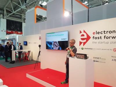 Fast Forward Award 2018 auf der electronica: Impressionen vom 2. Tag
