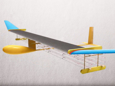Science-Nonfiction: (Modell)Flugzeug mit Ionenantrieb!