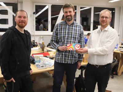 FabLab Nürnberg: Glückwünsche zu neuen Räumen
