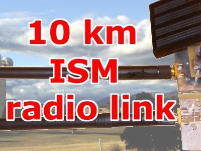 Hochleistungs-Funkverbindung über 10 km selbstgebaut