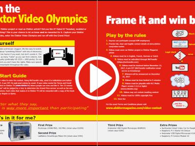 Haben Sie sich schon für die Elektor-Video-Olympiade angemeldet?
