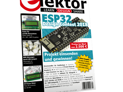 Elektor 3-4/2018 am Kiosk erhältlich