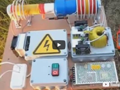 4-kW-Tesla-Generator-Projekt oder milde Gabe?