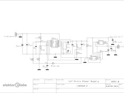 130560-I IoT Micro Power Supply-LTC3129