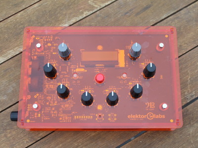 Laser cut 3mm orange plexiglass - top