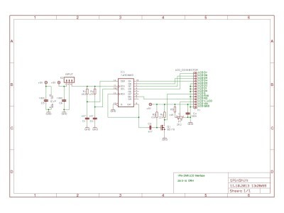 Schematic of the whole Interface