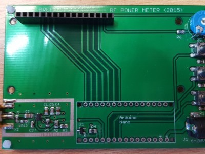 PCB with smd components