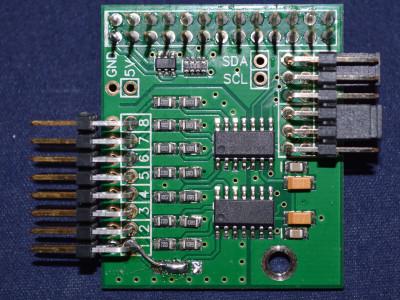 The ADC module used in the Raspberry Pi Wobbulator
