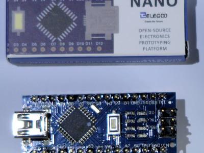 Arduino nano pour contrôler la gestion de la luminosité des guirlandes