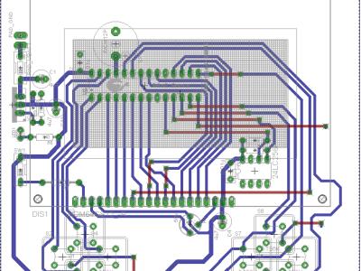PCB of the Chip 8 V2