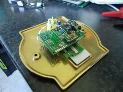 backside of doorbell