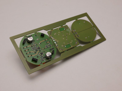 Assembled PCB, BOTTOM