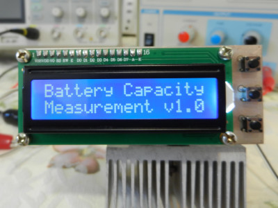 Correct circuit power-up indication on the LCD