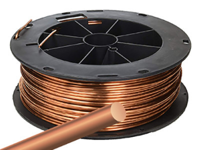 Figure-7, A thick bare copper wire