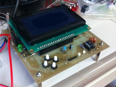 picture of a FFT analysis system that was turned into a Chip-8