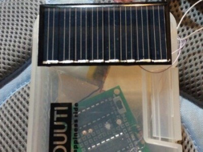 with the solar charger