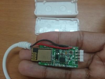 It controls the LED matrix