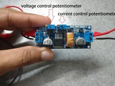The conctant current constant voltage buck converter