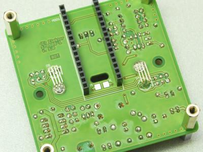 PCB, solder side
