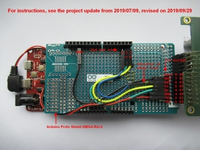 Arduino Proto Shield MEGA-Rev3 Headers and Wiring improved