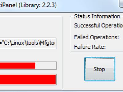 MfgTool failed.