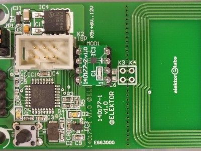 Main PCB 140177-1 v1.0 (first prototype)