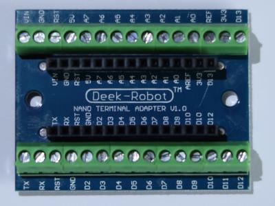 support d'Arduino pour les tests