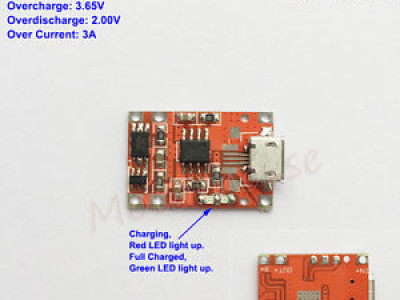 TP5000 charging module for LiFePO4 batteries
