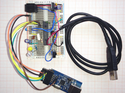 Another breadboard prototype of the author