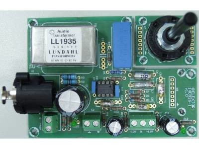 Microphone Preamplifier with Transformer and Phantom-Power [140426]