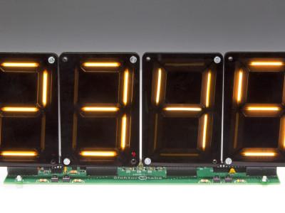 Clock / scoreboard / timer  with LEDitron modules (180533 / 160205)