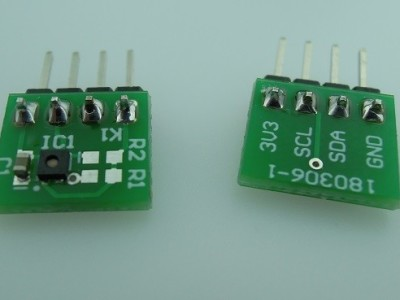 ENS210 humidity/temperature sensor BOB