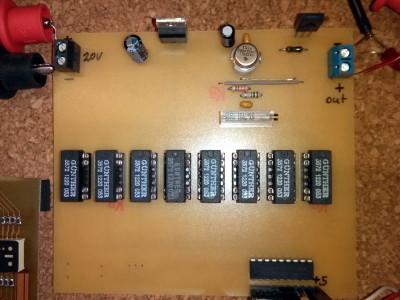 Digital control constant current source
