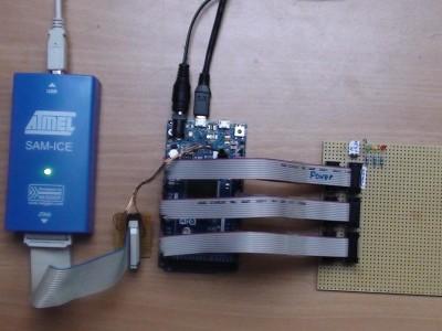 Arduino Due mit AVR-Studio 6.1 und Debugger SAM-ICE