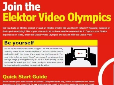 Elektor Video Olympics - now voting!
