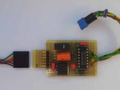 ESP-01 / ESP-03 programmer