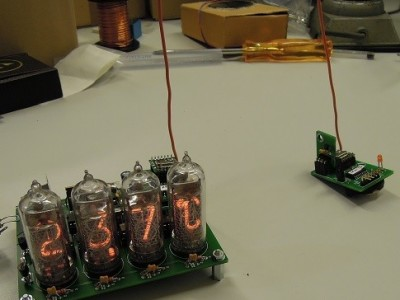 Nixie thermometer/hygrometer wireless sensor [120586]