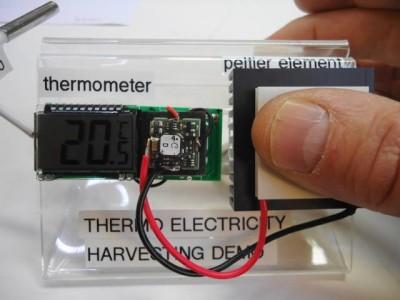 Aanraak Thermometer