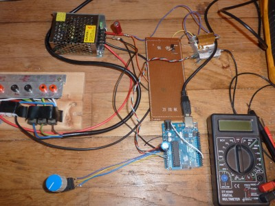 Banc de test pour sondes de température