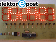 Elektor.POST - No. 4 (AVR LED Clock)