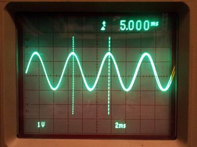 Sine generation by an IIR filter approach on low-cost 8 bit MCU's