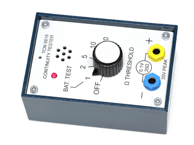 Fail-safe Continuity Tester with Adjustable Threshold