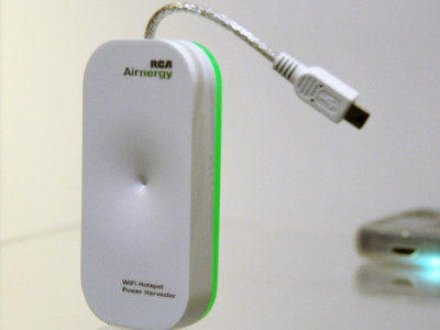 Y a de l'électricité dans l'air : récupérons l'énergie WiFi