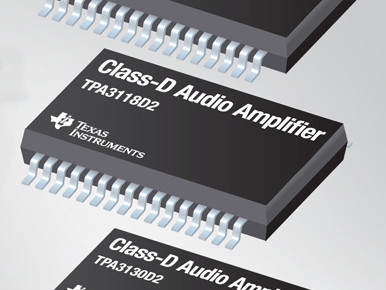 Amplificateurs audio classe D TI : rendement et qualité