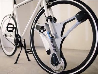 Votre vélo électrifié en 60 sec. par une roue orbitale