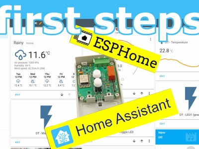 Home Assistant and ESPHome How-to
